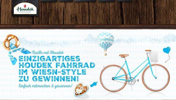 Houdek Gewinnspiel Fahrrad Wiesn Style 2017