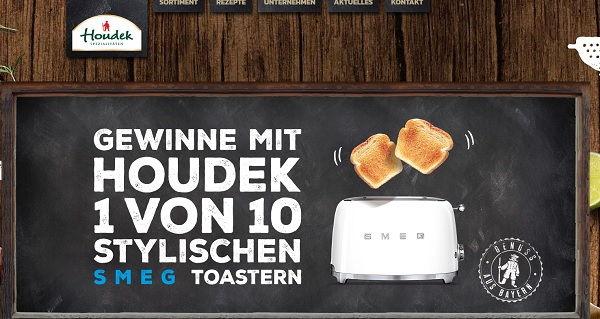 Houdek Gewinnspiel SMEG Retro Toaster 2017