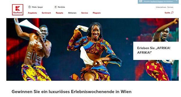 Kaufland Gewinnspiel Luxus Wochenendreise Wien 2017