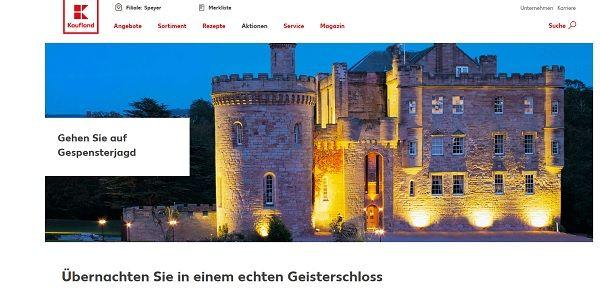 Kaufland Halloween Gewinnspiel Geisterschloss Reise 2017