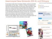 Kidslife Magazin Gewinnspiel Nintendo 2DS XL Mitopia