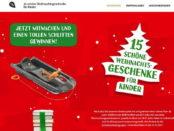 Kinderbuchgeschenke Gewinnspiel Schlitten und Bücher 2017