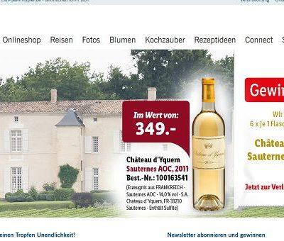 Lidl Gewinnspiel edlen Wein gewinnen 2017