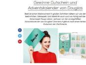 Maedchen.de Gewinnspiel Douglas Gutscheine und Adventskalender 2017