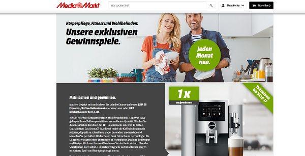 Media Markt Gewinnspiel Jura S8 Kaffeevollautomat