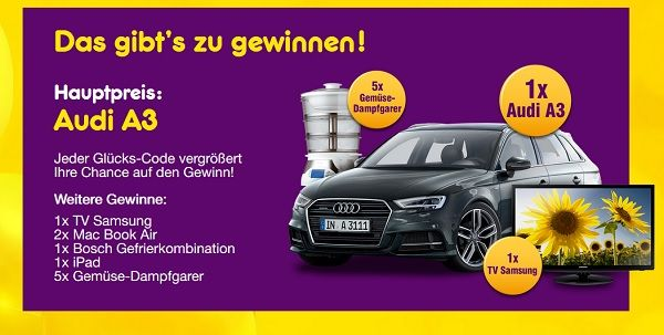 Netto Gewinnspiel Audi A3 Deutschland Card 2017