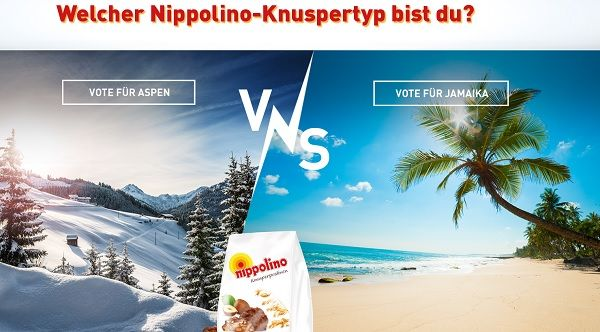 Nippolino Gewinnspiel Aspen oder Jamaika Reise 2017