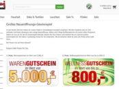 Opti Wohnwelt Gewinnspiel 5.000 Euro Gutschein
