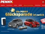 Penny Glücksparade Gewinnspiel 2017 Auto gewinnen