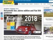 Pro Mobil Leserwahl Auto Gewinnspiel 2017