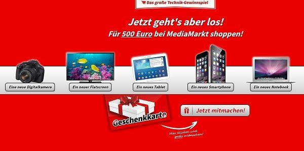 Promoba Technik Gewinnspiel Media Markt Gutschein 2017