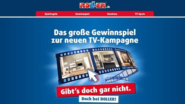Roller Gewinnspiel Gutscheine 2017 TV