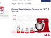 Südzucker Gewinnspiel AEG Küchenmaschine 2017