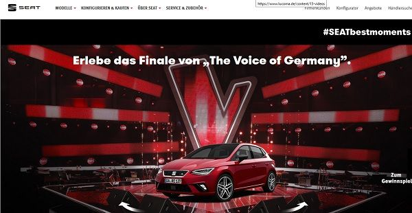 Seat Gewinnspiel The Voice of Germany 2017 Finale