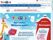 ToysRus Wunschzettel Gewinnspiel 2017