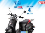 real Gewinnspiel Vici Motorroller 2017