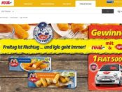 real iglo Auto Gewinnspiel Fiat 500