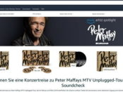 Amazon Gewinnspiel Peter Maffay MTV Unplugged Tour Konzertreise