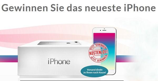 Apple iPhone 8 Gewinnspiel iwin