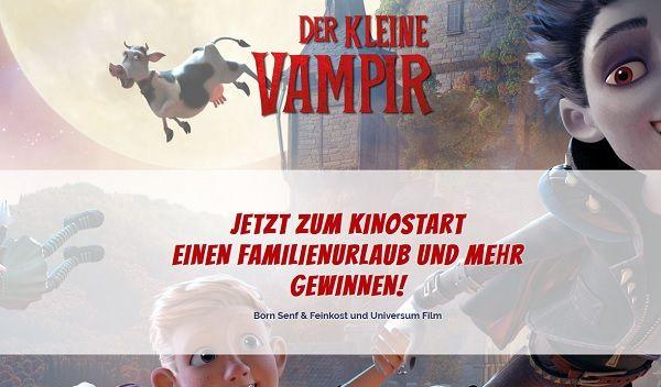 Born Feinkost Gewinnspiel Der kleine Vampir Familienurlaub