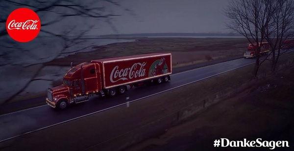 Coca Cola Weinhnachtstruck Tour 2017