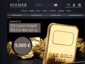 Diemer Goldbarren Gewinnspiel 2017