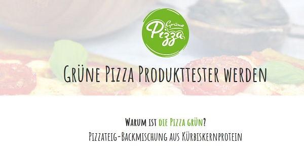 Grüne Pizza Gewinnspiel 500 Tester 2017