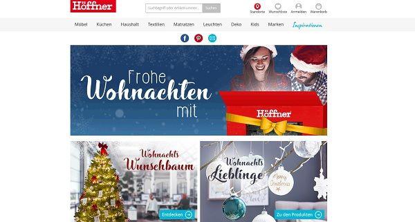 Höffner Weihnachtswunsch Gewinnspiel 2017