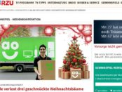 Hörzu Gewinnspiel ao Weihnachtsbäume 2017