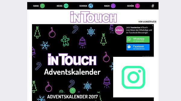 Intouch Adventskalender Gewinnspiel 2017