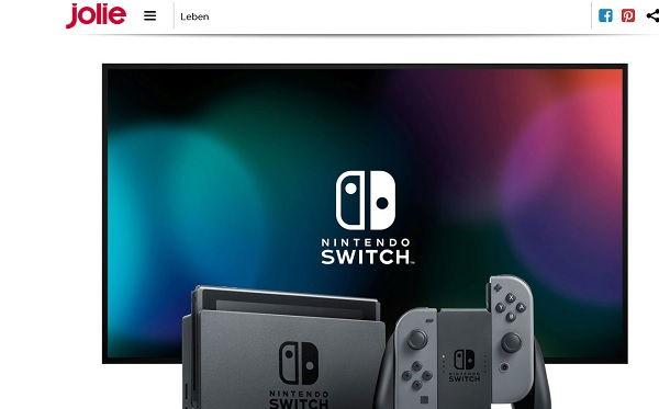 Jolie Gewinnspiel Nintendo Switch 2017