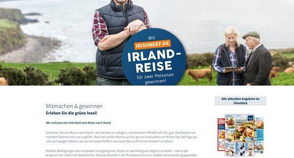 Karstadt Lebensmittel Reise Gewinnspiel Irland 2017