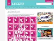 Lecker.de Adventskalender Gewinnspiel 2017