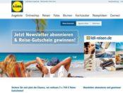 Lidl Reisen Gewinnspiel 750 Euro Gutscheine 2017