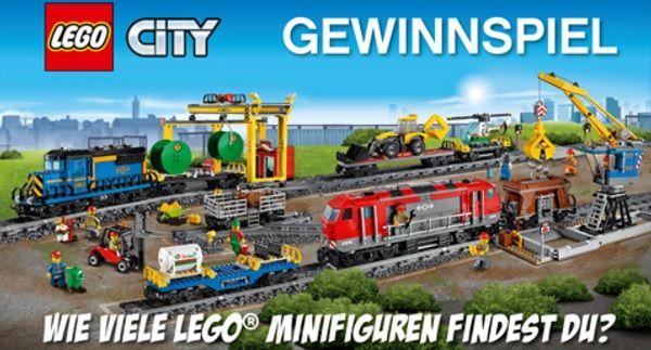 Müller Lego City Gewinnspiel 2017
