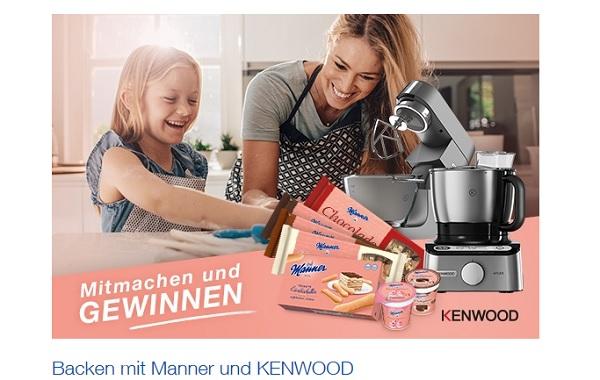 Manner Gewinnspiel Kenwood Küchenmaschinen 2017