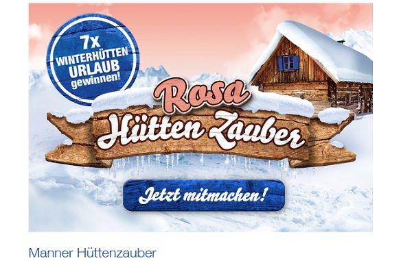 Manner Hüttenzauber Gewinnspiel 2017