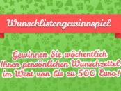 Ravensburger Wunschlisten Gewinnspiel Weihnachten 2017