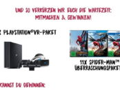 Reno Gewinnspiel Spider-Man Homecoming PS4 VR Sets