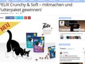 Revvet Gewinnspiel Felix Katzenfutter 2017