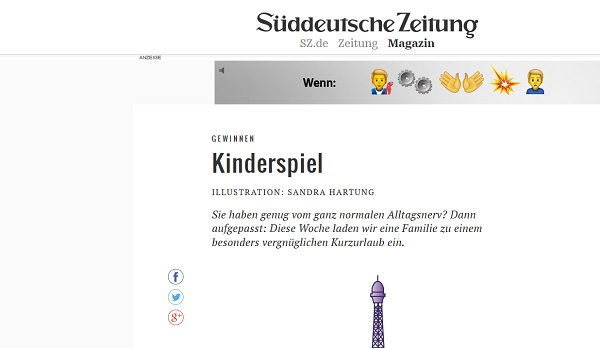 Süddeutsche Zeitung Gewinnspiel Disneyland Paris
