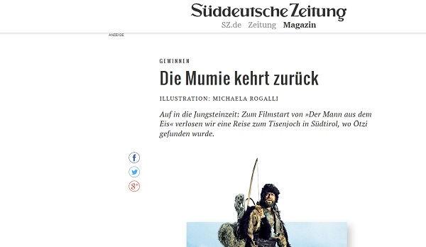 Süddeutsche Zeitung Gewinnspiel Südtirol Reise 2017