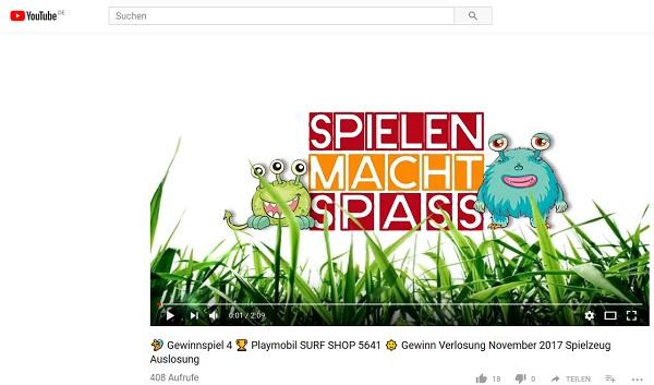 Spielen Macht Spaß Gewinnspiel Playmobil 2017