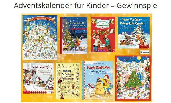 Kinderbuchlesen Gewinnspiel Bücher Adventskalender
