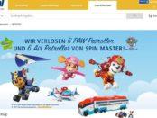 real Gewinnspiel Paw Patroller Spin Master