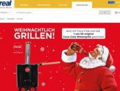 real und coca cola Gewinnspiel wintergrill 2017