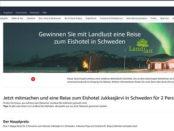 Amazon Gewinnspiel Landlust Schweden Reise 2017