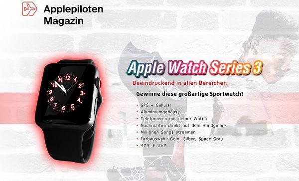 Applepiloten Gewinnspiel Apple Watch 3
