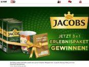 Bild.de und Jacobs Kaffee Gewinnspiel Erlebnispaket 2018