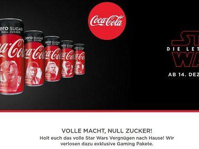 Coca Cola Gewinnspiel Star Wars Playstation 4